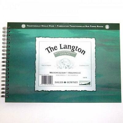 Daler Rowney Langton Watercolour Cold Pressed Spiral Pad - 10  X 7  • 10.40£