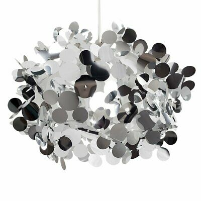 £13.29 • Buy Modern Large Silver Bubble Effect Design Ceiling Pendant Light Shade
