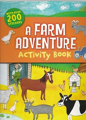 £5.99 • Buy Farm Sticker Activity Book - 200+ Stickers Spot The Difference Colouring Etc