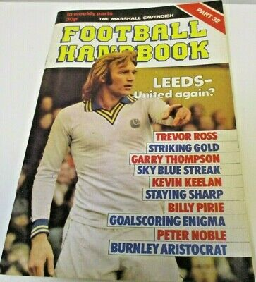 Football Handbook 'Marshall Cavendish' Issue Part 32 • 1.50£