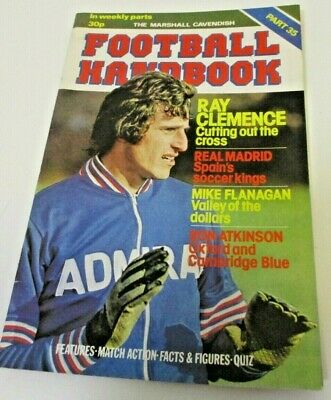 Football Handbook 'Marshall Cavendish' Issue Part 35 • 1.50£