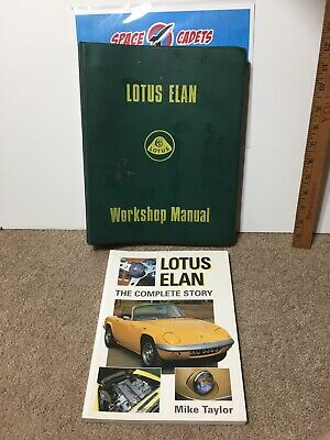 $ CDN225.35 • Buy Lotus Elan Workshop Manual 1970 36/T 327 And The Complete Story Mike Taylor