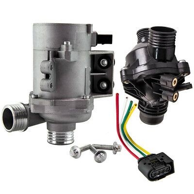 £148.46 • Buy Electric Water Pump + Thermostat For BMW E60 E90 E82 E83 11517586925 N51 N52 N53