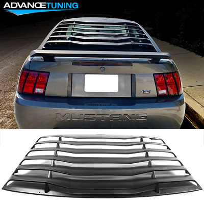 $295.36 • Buy Fits 99-04 Ford Mustang IKON Style Window Louver