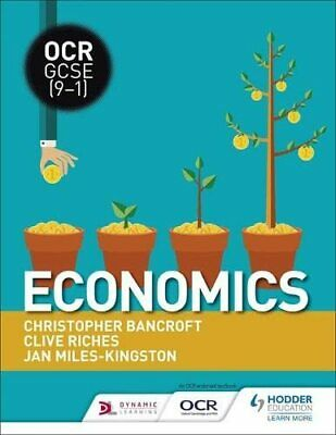 £26.99 • Buy OCR GCSE (9-1) Economics By Miles-Kingston, Jan Book The Cheap Fast Free Post