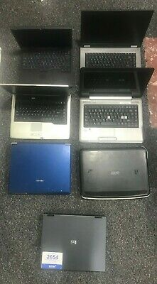 $ CDN264.11 • Buy 7 X Job Lot Of Laptops Faulty Spares Or Repairs Acer, HP,Toshiba, Dell RRP£2000+