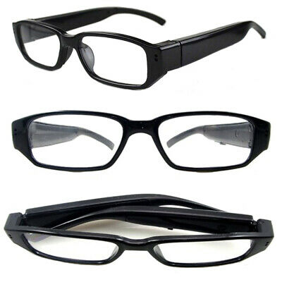 £24.99 • Buy Full HD 1080p Video Glasses Recorder With Sound 5MP Photo Images 1 Hour Battery