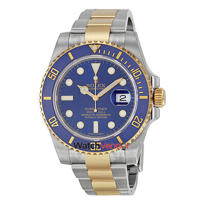 $ CDN26802.99 • Buy Rolex Submariner Stainless Steel And 18K Yellow Gold Men's Watch 116613BLSO