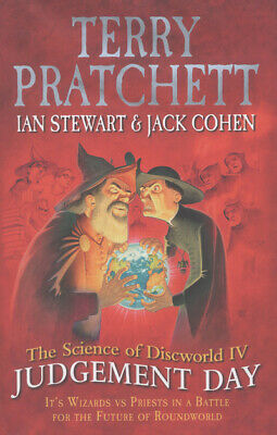 The Science Of Discworld: Judgement Day By Ian Stewart (Hardback) Amazing Value • 3.95£