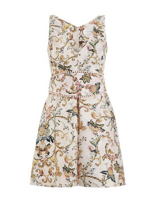 $248 • Buy Nwt $630 Auth Zimmermann Painted Heart Shift Dress