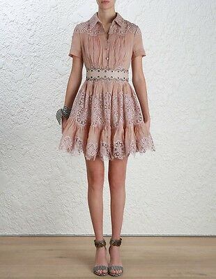 $398 • Buy New Authentic Zimmermann Winsome Sunday Dress Matching Belt Included $1,700