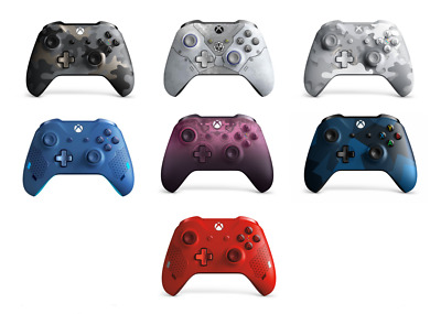 Microsoft Xbox One Controller Multiple Selection Wireless Bluetooth Windows 10 • 49.99$