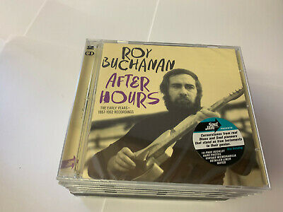 Roy Buchanan - After Hours: The Early Years 1956-1962 2 CD NEW SEALED  • 10.99£