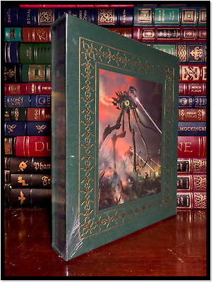 H.G. Wells' War Of The Worlds ✎SIGNED✎ New Easton Press Leather Limited 1/1200 • 300.40£