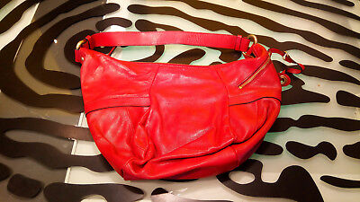 $ CDN33 • Buy Danier Leather Purse Handbag Good Condition Red