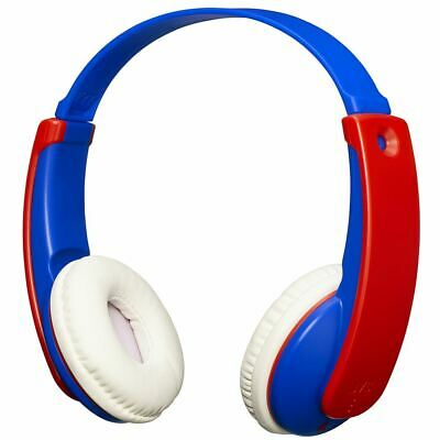 Jvc Tinyphones Kids Wireless Bluetooth Headphones With Volume Limiter Blue/red • 29.67£