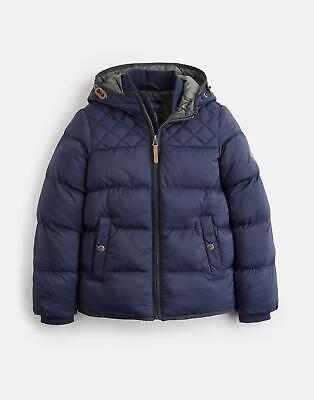 View Details Joules Boys Everett Quilted Coat Yr In MARINE NAVY • 34.16£