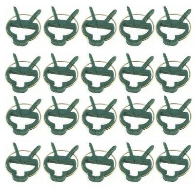 £3.99 • Buy Reusable Plant Clips Patio Support Fixing Clips Spring Gardening Set