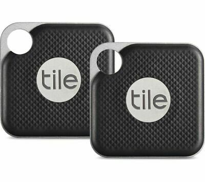 Tile Pro Duo GPS Bluetooth Tracker Key Finder Locator - IPhone Android - 2 Pack • 28.95£