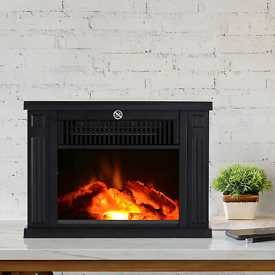 View Details 4  1000W Free Standing Electric Fireplace - Black • 72.99$ CDN