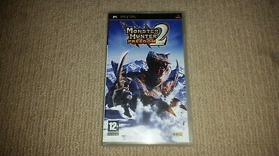 AU15.95 • Buy Monster Hunter Freedom 2 Sony Playstation Portable PSP Game