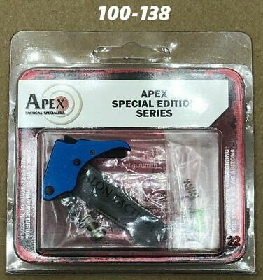 $156.70 • Buy Apex Tactical For S&W M&P Shield Action Enhancement Trigger Duty/Carry Kit BLUE