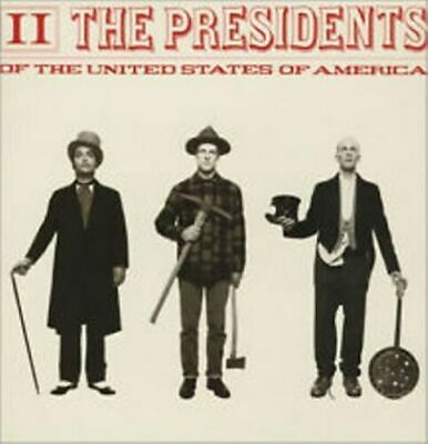 The Presidents Of The United States Of America II CD K106/109 • 3.21£