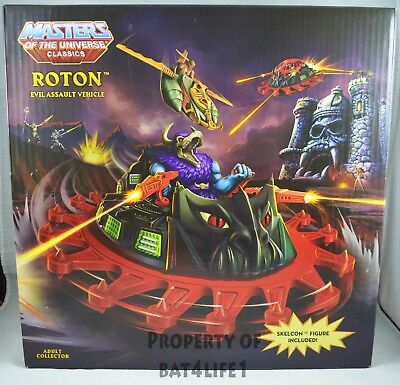 $183.96 • Buy MOTUC, Masters Of The Universe Classics ROTON & SKELCON!! NEW!!! FREE S/H!!!