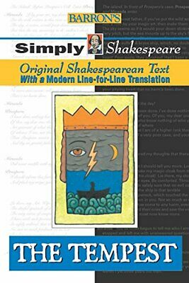 The Tempest (Simply Shakespeare S.) By Shakespeare, William Paperback Book The • 5.99£