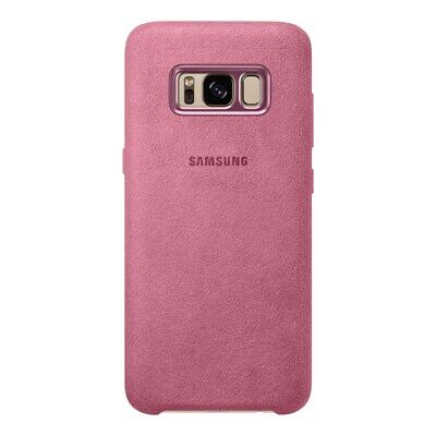 AU29.95 • Buy Genuine Samsung Alcantara Back Cover Case For Galaxy S8 Plus - Pink |BRAND NEW|