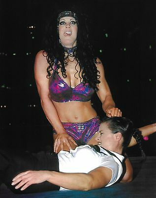 $ CDN7.60 • Buy Chyna & Ivory 8x10 Photo WWE Diva Pro Wrestling WWF Joanie Laurer & Lisa Moretti