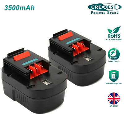 2x 12V 3.0AH Ni-MH Battery For BLACK & DECKER A1712 A12 A12-XJ A12EX FSB12 CP12K • 35.56£