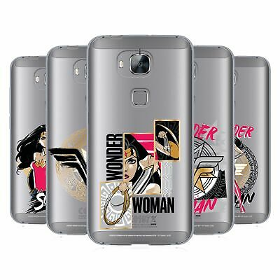 Official Wonder Woman Dc Comics Graphic Arts Soft Gel Case For Huawei Phones 2 • 14.95£