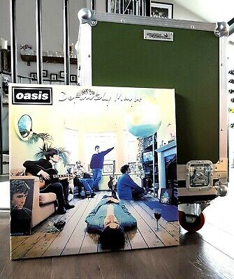 £39.99 • Buy Oasis  Definitely Maybe  Canvas With 2 -A3 Limited Edition Prints/Liam Gallagher