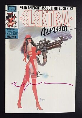Elektra Assassin 1 To 8 Complete Frank Miller Signed By Bill Sienkiewicz NM • 52£