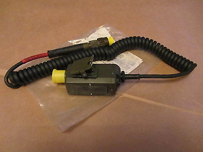 £7.99 • Buy Clansman PTT Pressel Switch And Cable. GREEN ANR TYPE SPARES OR REPAIR
