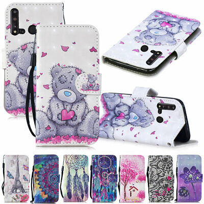 For Huawei P30 Pro P20 Lite 2019 3D Pattern Flip Leather Wallet Phone Case Cover • 4.78£