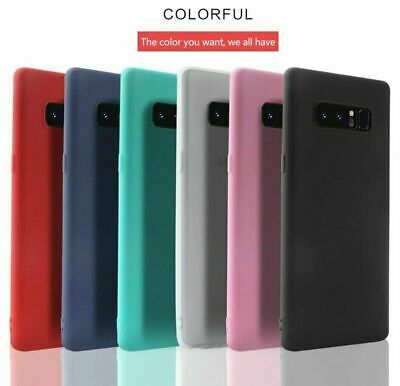 AU4.01 • Buy Ultra Thin Skin Slim Matte Case Cover For Samsung Galaxy S20 S10 5G Note 10 9 8