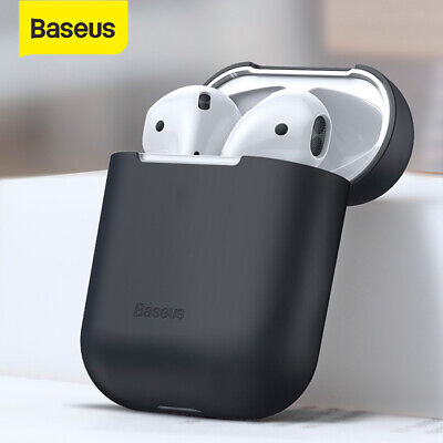$ CDN5.90 • Buy Baseus Shockproof Case Silicone Cover Skin Earphone Shell For Apple Airpods 1 2