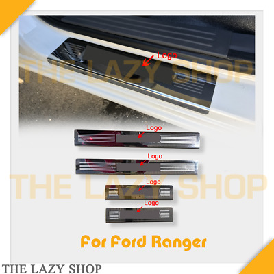 AU79 • Buy For Ranger 12+ Stainless Steel Scuff Plate Door Sills Protector #L NOT BLACK