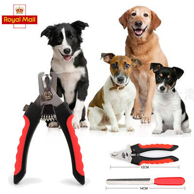 £3.34 • Buy Nail Claw Clippers Pet Dog Cat Puppy Kitten Trimmers Scissors Cutters Toe File