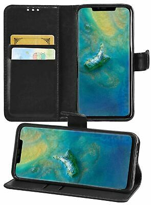 NEW HUAWEI And Honor ALL  MODELS WALLET LEATHER FLIP CASE WITH CARD HOLDING • 2.79£