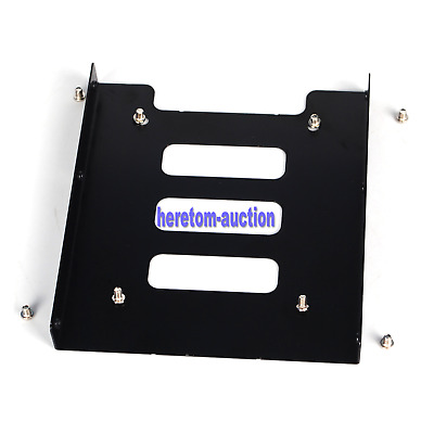 AU6.99 • Buy 2X PC Metal 2.5  To 3.5  SSD To HDD Mounting Adapter Bracket Hard Drive Holder