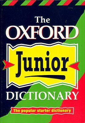 Oxford Junior Dictionary Paperback Book The Cheap Fast Free Post • 5.99£