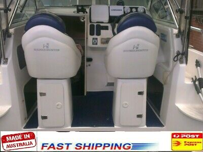AU295 • Buy 1x Boat Seat Box With Hatch For Haines Hunter, Four Winns, Quintrex, Malibu, Etc