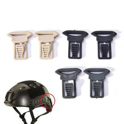 2x Fast Helmet Vision Goggle Buckles Clips Airsoft Tactical Helmet Accessorie S/&