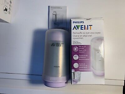 £35 • Buy Philips Avent Thermal Bottle Flask Warmer On The Go Fast Warm Up