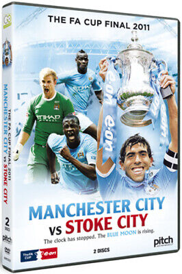 FA Cup Final: 2011 - Manchester City Vs Stoke City DVD (2011) Manchester City • 3.48£