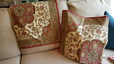 Pottery Barn Paisley Pillow Covers