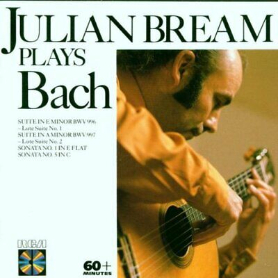 Bream Plays Bach Lute Works -  CD YBVG The Cheap Fast Free Post The Cheap Fast • 3.81£